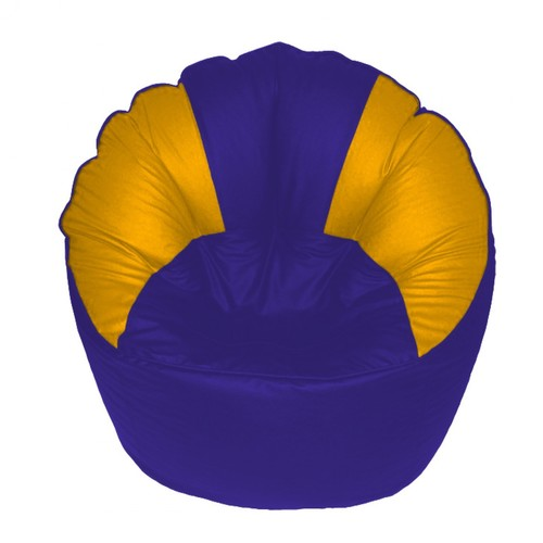Swell Royal Blue Modern Bean Bag Sofa At Best Price In Mumbai Theyellowbook Wood Chair Design Ideas Theyellowbookinfo