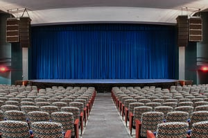 Automatic Motorized Stage Curtains