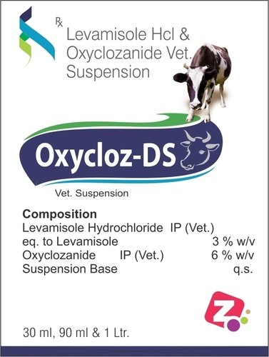 Oxycloz - Ds Suspension Veterinary Oral Liquid For Deworming