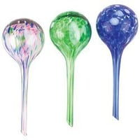 Mixed Color Glass Plant Watering Sphere Ball