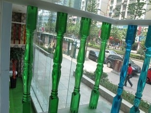Acrylic Stainless Steel Baluster