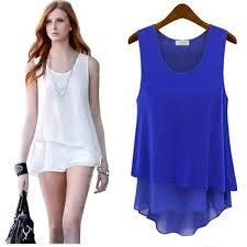 Designer Sleeveless Tops
