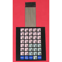 Optimum Performance Flexible Membrane Keypad
