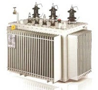 Distribution Transformer with Corrugated Tank