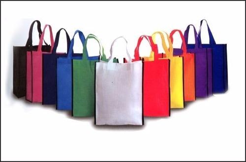 Multicolor Non Woven Loop Bag in   Chitra