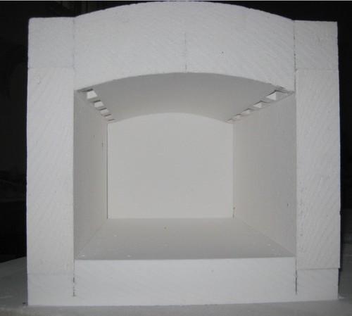 Furnace And Kiln Thermal Insulation Ceramic Fiber Board