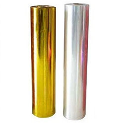 One Side Lacquered Metalized Polyester Films