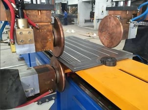 Transformer Radiator Production And Lateral Seamless Panel Welding Machines