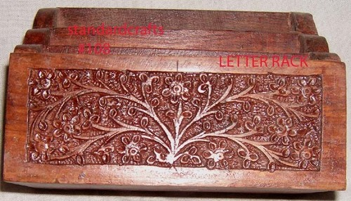 Handcrafted Wooden Letter Rack in  Krishna Nagar