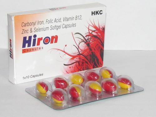 Hiron Multivitamin Softgel Capsules in  Badarpur