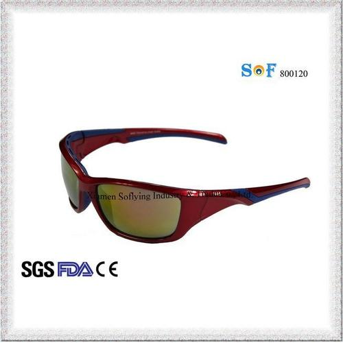 CE and FDA Fashion PC Injection Sports Outdoor Cycling Sunglasses UV400