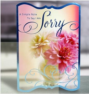 I am sorry greeting card in new delhi delhi andani corp i am sorry greeting card m4hsunfo