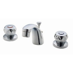 Three Hole Basin Mixer With Pop Up Waste