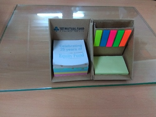 Eco Friendly Cube Pad With Sticky Notes