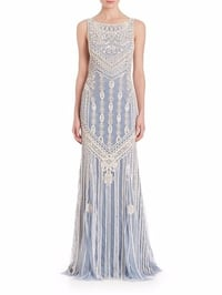 Mosaic Beaded Gown