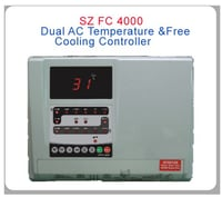 Dual AC Temperature and Free Cooling Controller