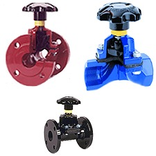 Quality Checked Saunders Industrial Diaphragm Valves