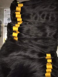 Non Remy Double Drawn Human Hair Extension