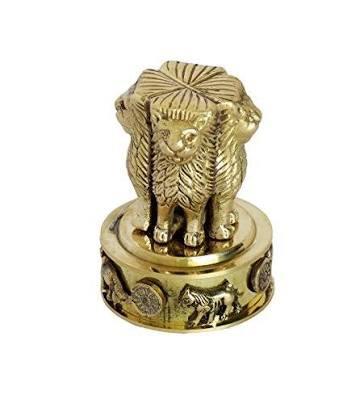 Brass Ashoka Pillar