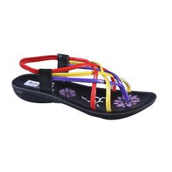 Colorful Ladies Pu Footwear