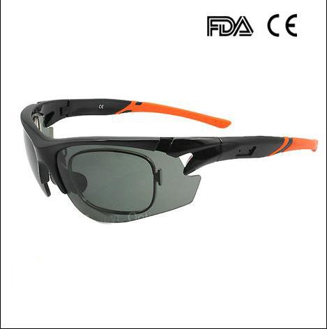 Fashion Driving Sports Sunglasses With Optical Lenses Insert