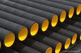 Hdpe Single Wall Corrugated Pipes (50mm)