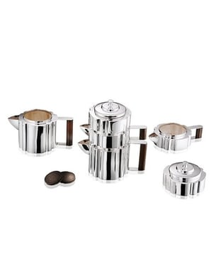 Silver Plated Nested Tea Set