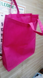 Plain Side Patti Non Woven Bag