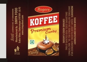Flavoured Coffee Candy
