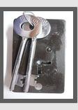Iron Body Lock - 4 Levers