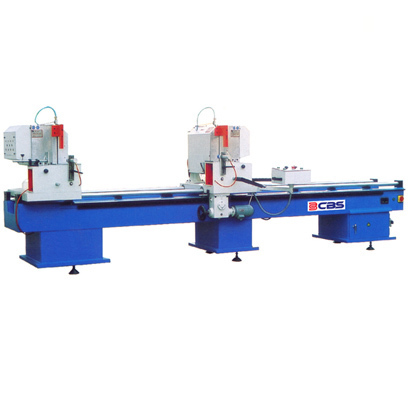 UPVC Window Double Head Cutting Machine