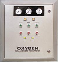 Oxyegene control panel
