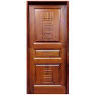 Stylish Design Wooden Door