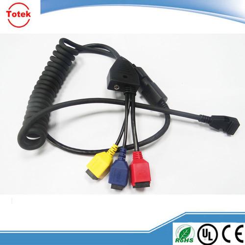 VW-1 Flame Retardant PU Jacket Cable For POS Terminal