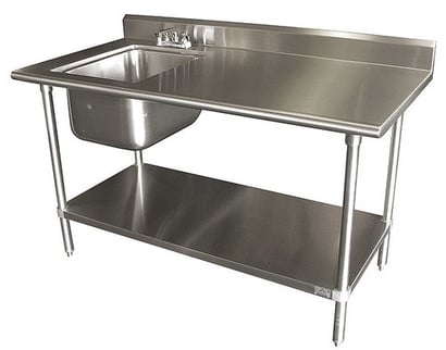 Working Table With Sink