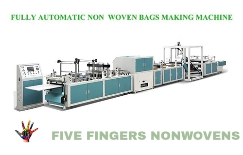 Fully Automatic Nonwoven Box Type Bag Making Machine