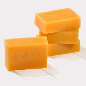 Saffron Bath Soap in  Kamrej