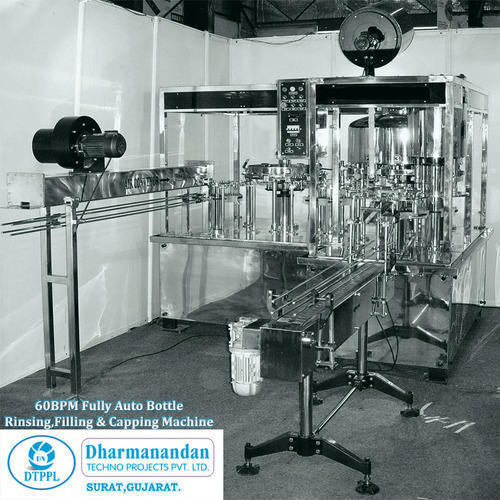 Automatic Bottle Washing Filling Machines
