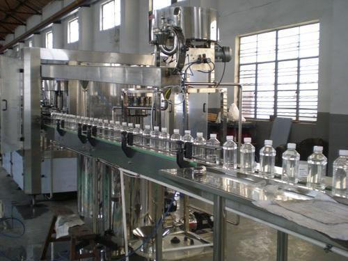 Plastics Pet Bottle Mineral Water Filling Machine