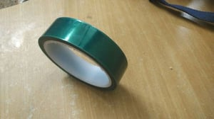 Rigid Green Polyester Masking Tapes