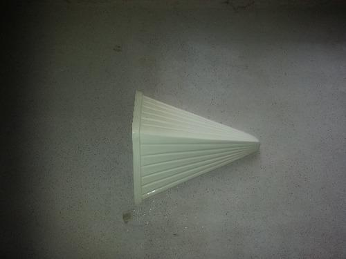 Robust Triangular Designer Wall Hang Pot