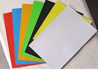 A3 Colorful Magnetic Paper One Side Plain Brown