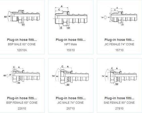 Plug-In Hose Fitting