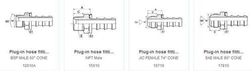 Plug-In Hose Fittings