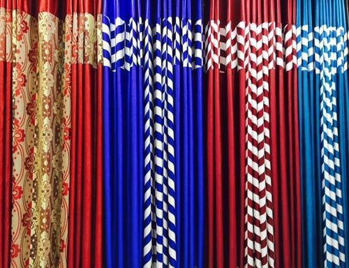 3Pc Readymade Curtains in   Near: Bharat Shoes Showroom