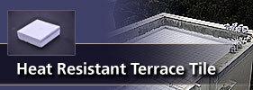 Heat Resistance Terrace Tiles