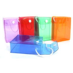 Colourful Pvc Button Bags