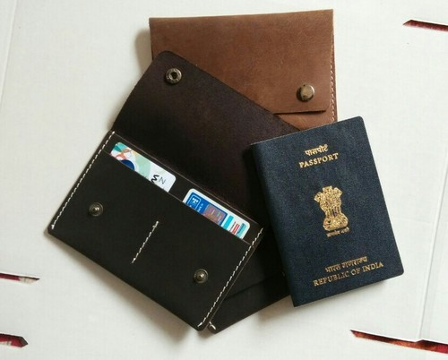 Leather Passport Wallets & Covers