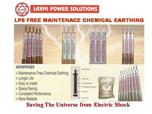 Lps Free Maintenance Chemical Earthing Electrodes