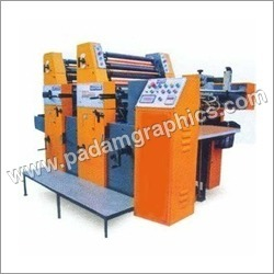 2 Color Sheet Fed Offset Printing Machine